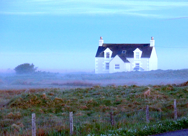 Misty morning South Uist