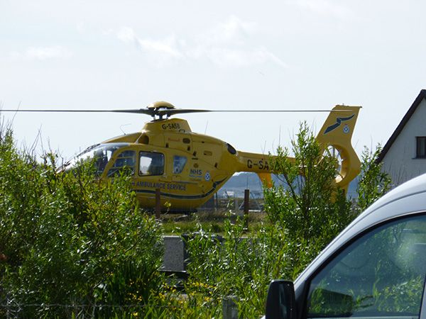 scottish health service air ambulance helicopter