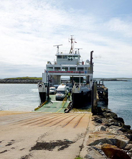 Calmac ferry Loch Portain