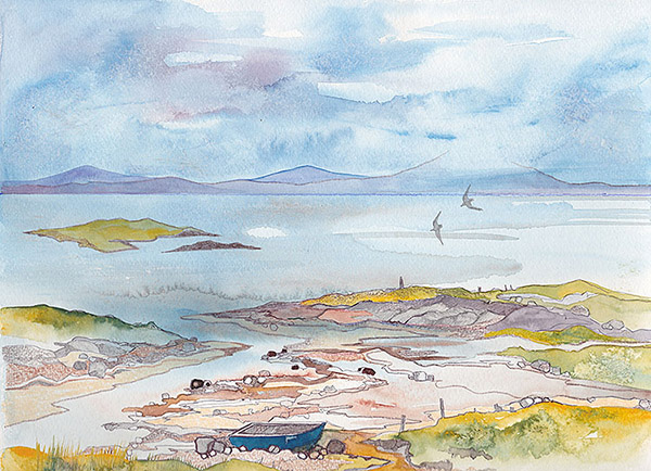 One of Jane's Uist sketches