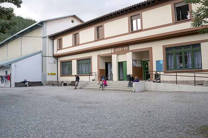 The municipal albergue at Zubiri