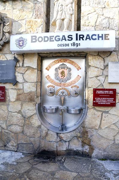 Camino de Santiago, wine fountain, Irache