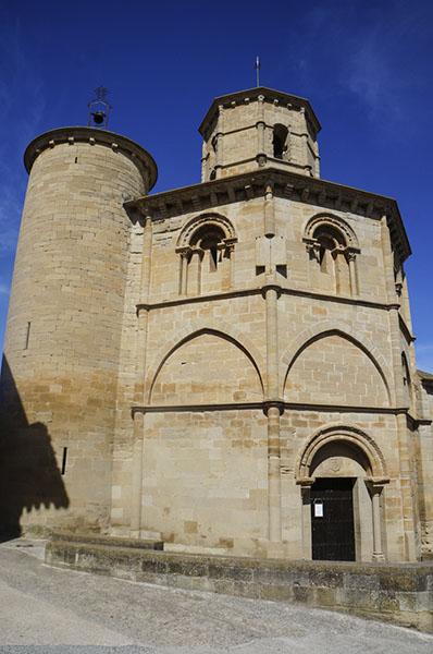 Santo Sepulchro, at Torres del Río, Camino de Santiago