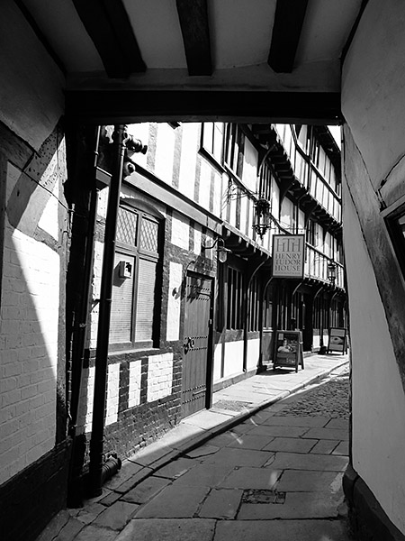 Barracks Passage, Shrewsbury